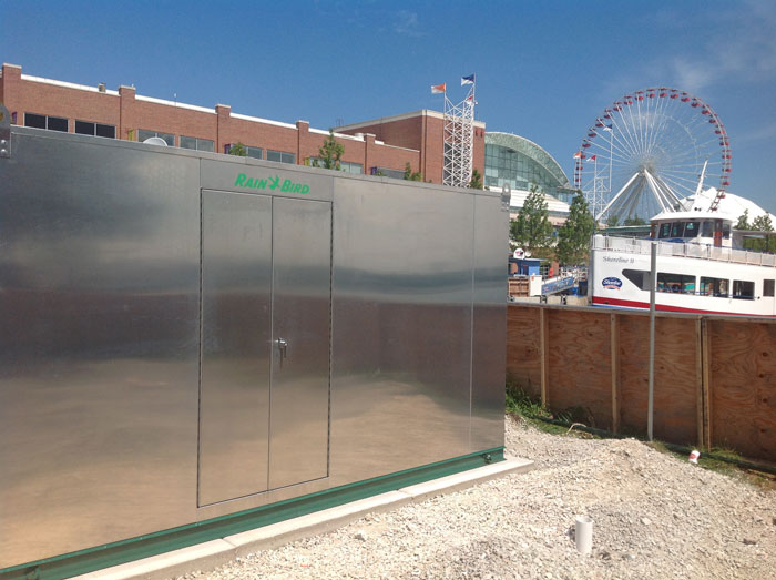 CHICAGO NAVY PIER PUMP STATION ELECTRICAL ENCLOSURES