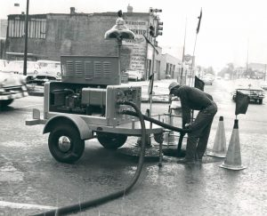 Power Trailer built by Pelsue in the early 1960's