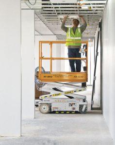 Lift in hallway