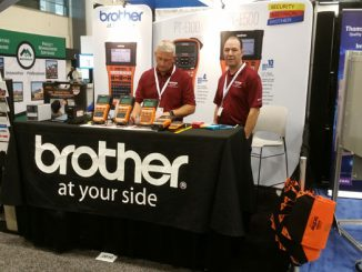 Brother Mobile's Booth at NECA 2015