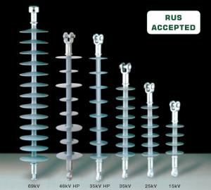 Advanced Rubber Dead-End Insulators