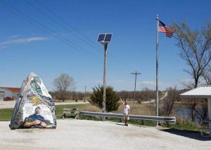 Freedom Rock in Greenfield, Iowa - Sepco Lighting