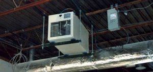 Plenum-rated heater