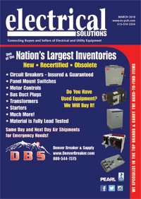 March 2018 Electrical Solutions